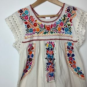 Traditional Mexican dress size small